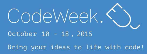 L'Italia guida EU Code Week 2015