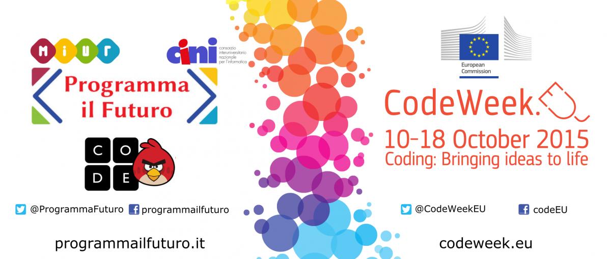 Programma il Futuro e CodeWeek
