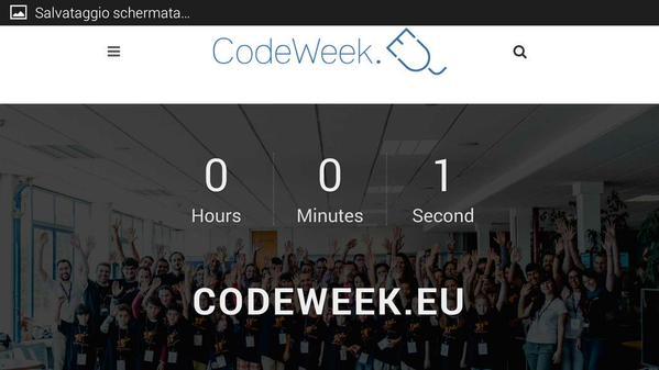 Attività CodeWeek last minute