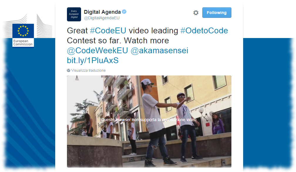 Ode to code a Cosenza!