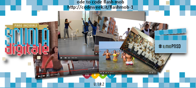 Ode to code flash mob per PNSD