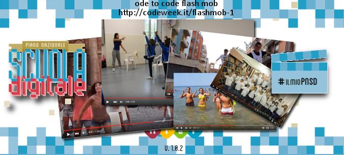 Ode to code flash mob per PNSD