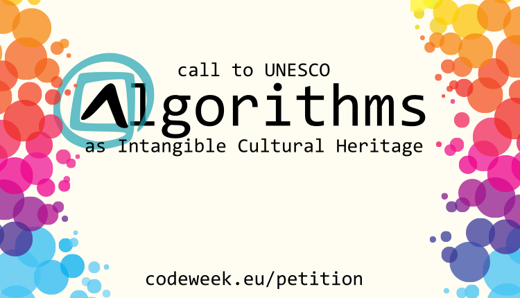 Algoritmi come patrimonio immateriale dell'umanità