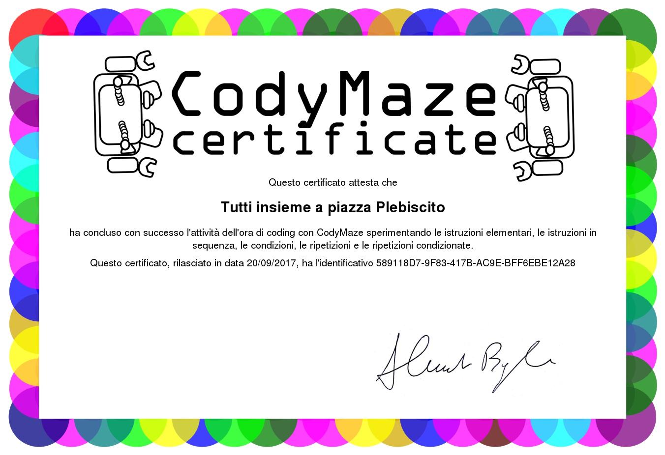 certificato-CodyMaze