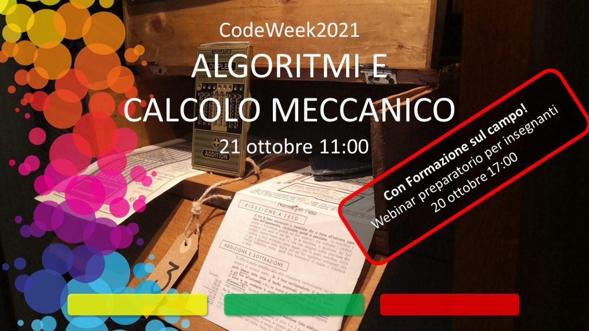 Gli Algoritmi e il Calcolo meccanico