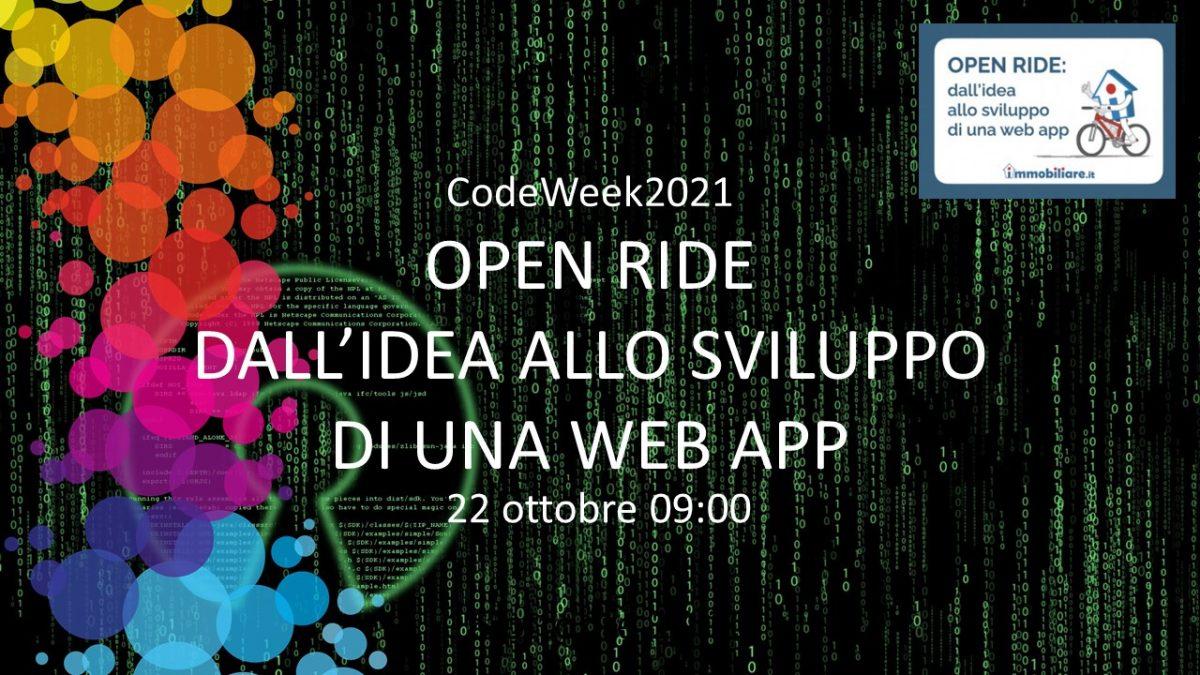 Open Ride: Sviluppo in diretta di un'app open source